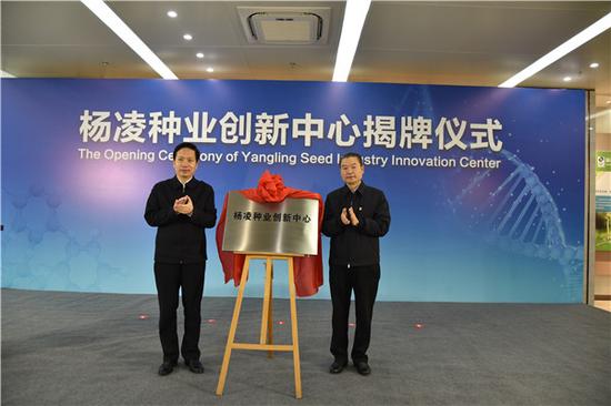 杨凌秦丰种业股份有限公司揭牌仪式成功举行