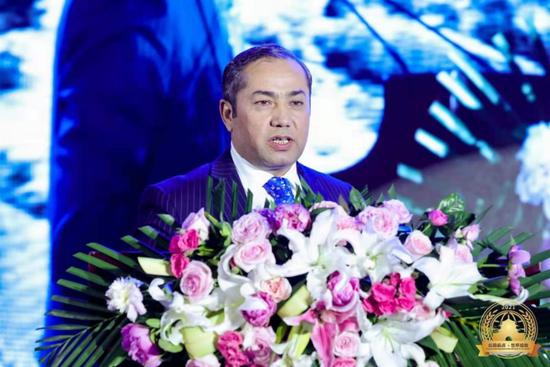 塔吉克斯坦共和国副大使 穆哈默德·叶尕穆佐德讲话