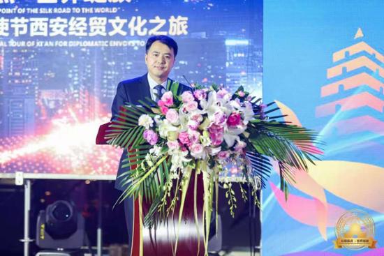 陕西汉唐文化创意研究院院长李成平讲话