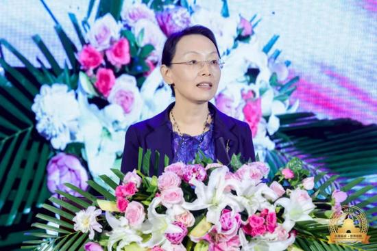 中国人民对外友好协会副会长林怡致辞