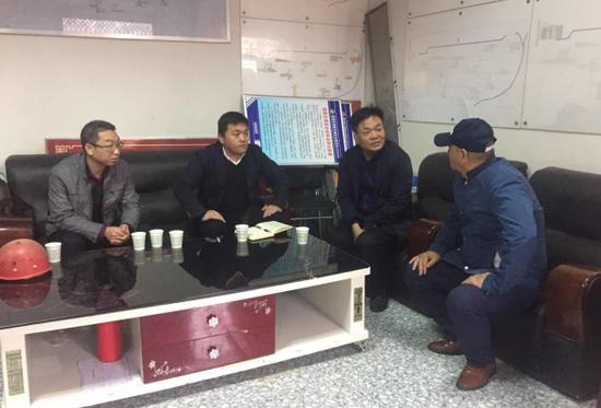 临潼区统筹办督导2018年度农村片区化中心社区项目建设