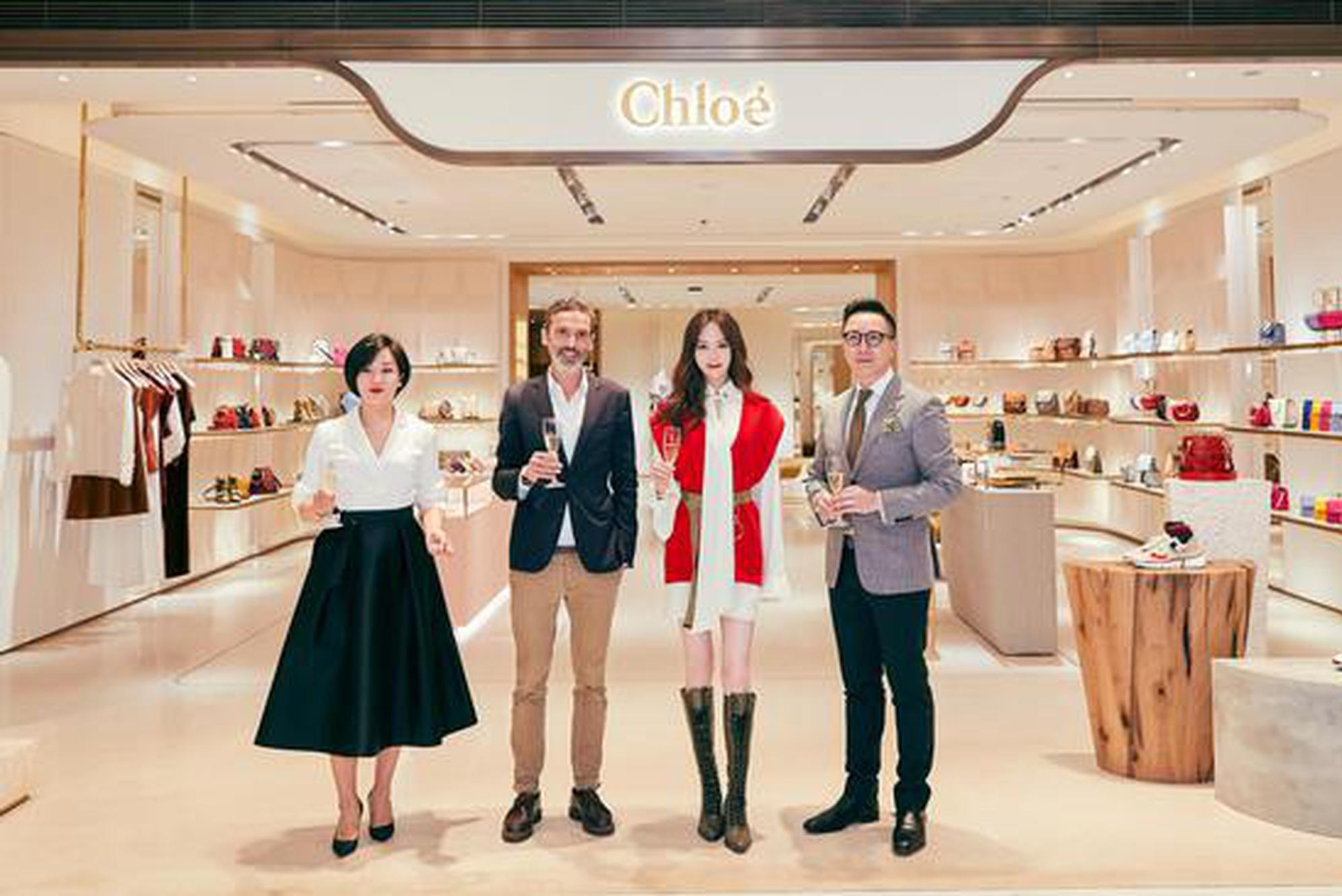 Chloé 精品店西安SKP盛大揭幕