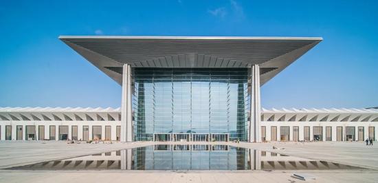 功能齐全 西安国际会展中心展览馆即将启用