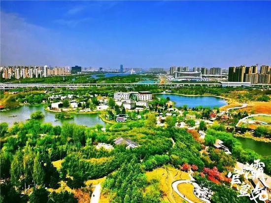 西安浐灞生态区:坚持生态立区 建设绿色新城