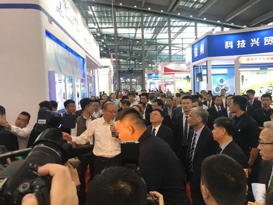经开区组团参加第二十一届中国国际高新技术成果交易会