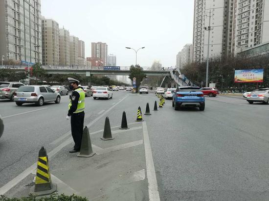 """交警未央大队""""3个加强""""优化提升道路交通环境"""