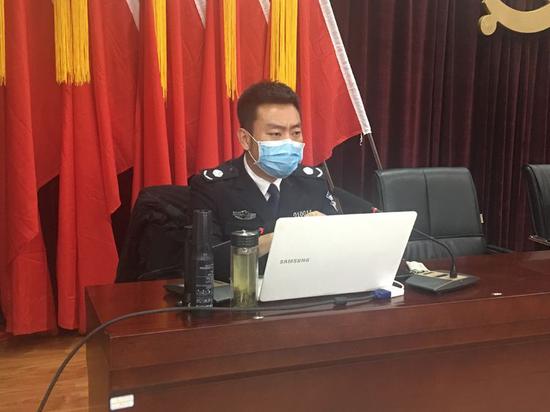 未央�^大明�m街道�_展消防安全知�R培�
