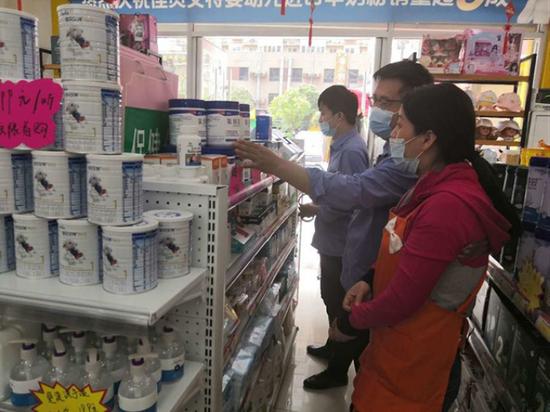 未央区市场监管局积极开展婴幼儿乳粉经营单位专项大检查