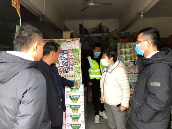 西安高新区应急管理局持续开展烟花爆竹联合检查