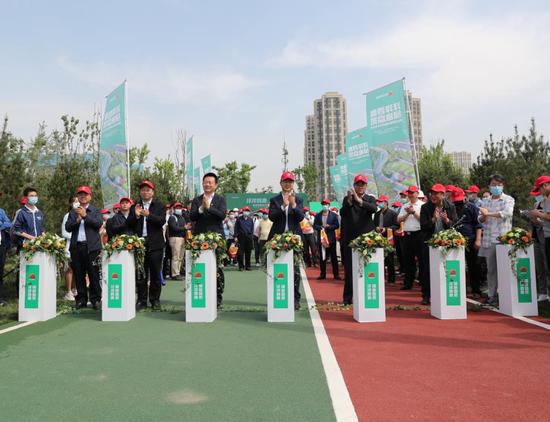 沣惠绿道全新开放市民点赞:高新区美成了画卷中的样子
