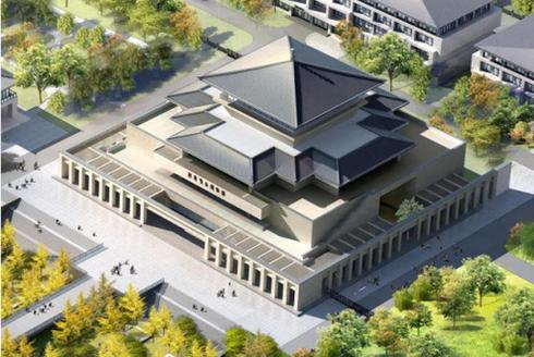 陕西考古博物馆正式开建