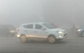 西安大雾 仙境模式遭网友吐槽