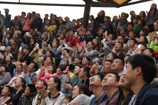 西安乐华城已累计接待游客千万余人次