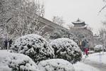 陕西多地出现强降雪 陕北地区最大积雪量达12厘米