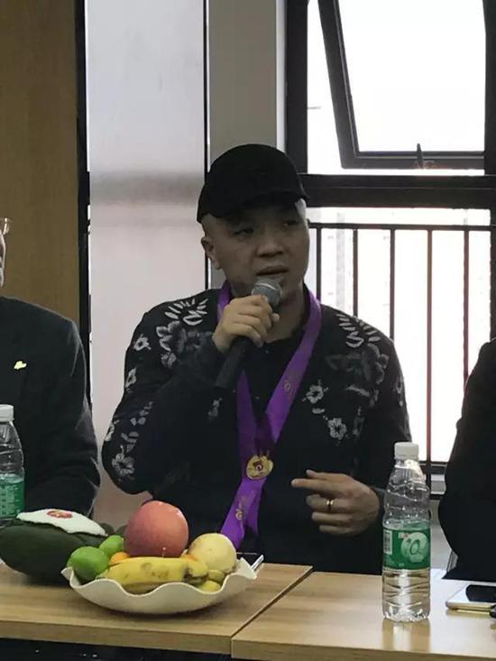 西安艺道展览装饰有限公司总经理 杨志鹏发言