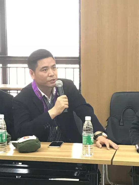 大唐西市集团国际事务部总监 李强发言