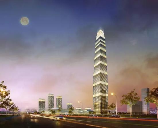 丨形似小雁塔的绿地西安国际金融中心丨