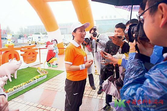 燕君芳:本香永不放弃的创业精神与马拉松精神一致