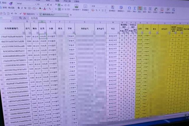 商洛:招考特岗教师3600多名考生信息遭泄露