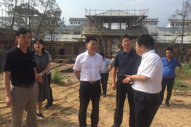 长安区委书记杨建强调研太乙·长安道项目建设进展情况
