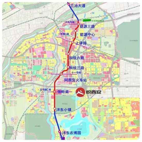 沣东新城未来规划图
