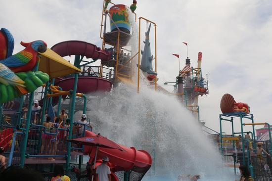 乐华城超级大福利 55元玩温泉水上乐园