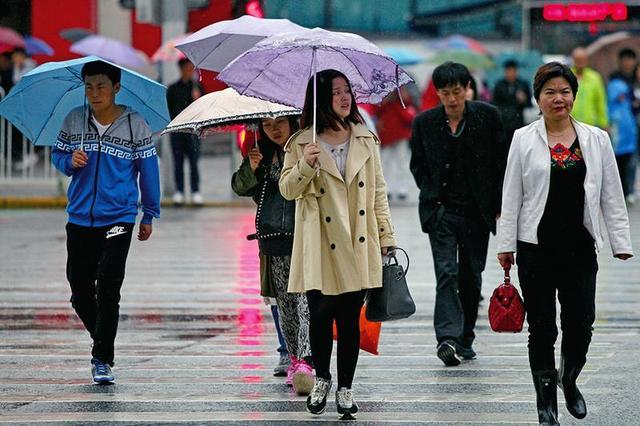 国庆节前几日西安都是雨天 8月以来逢周末必下雨