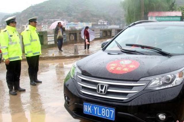 陕西局地遭洪涝风雹灾害 直接损失近400万元