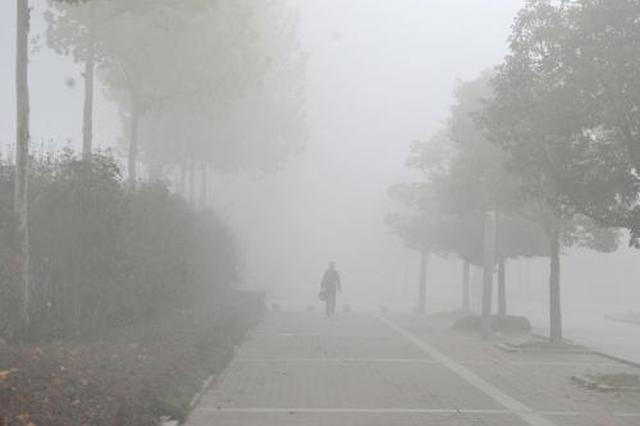 榆林未来6小时内多地大雾 能见度小于200米