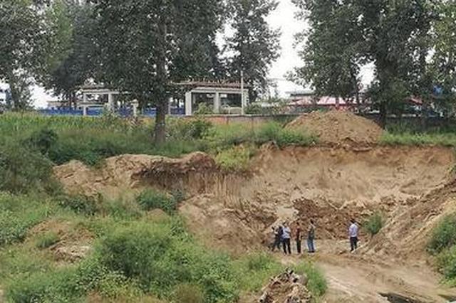 鄠邑5名男子盗挖旧河道砂石被批捕 系陕西首例