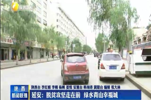 延安:脱贫攻坚走在前 绿水青山幸福城