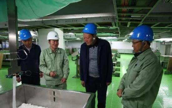 """市统筹办主任倪广天到西安惠大化学工业有限公司开""""促投资、"""