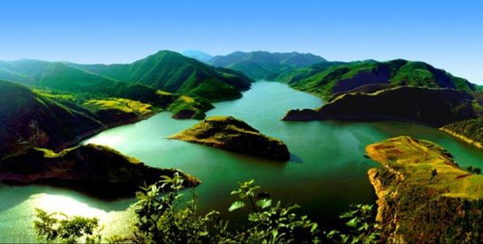 商州仙娥湖风景区