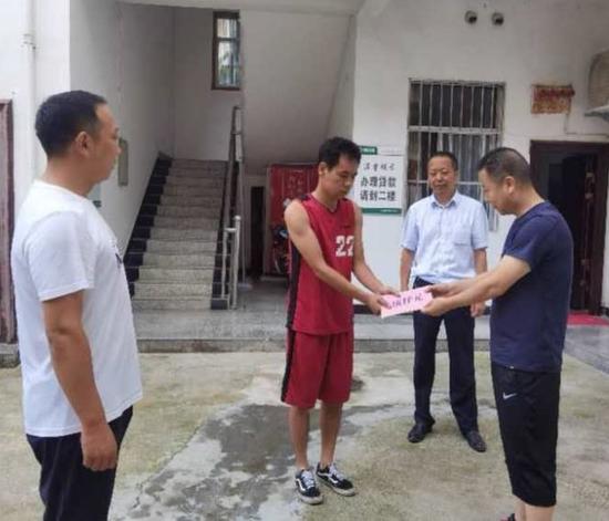 """洛南县信用联社""""8.6""""暴雨洪涝"""