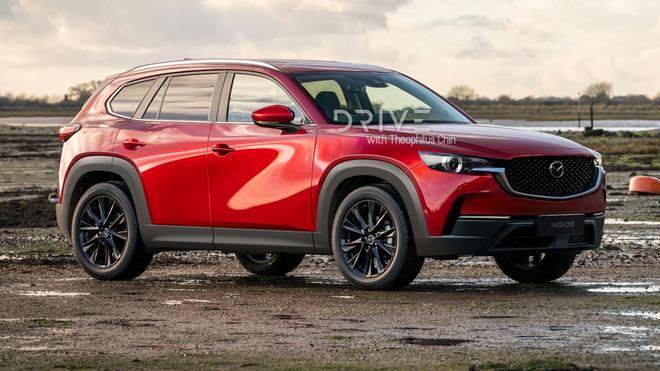 马自达CX-5曝光:下一代中型SUV配备后驱