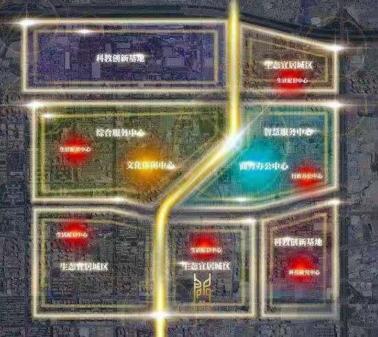 ▲徐家湾规划 示意图