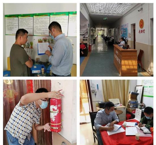 未央区民政局对17家养老机构开展全面大检查