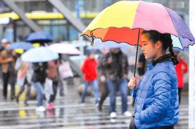 陕多地迎来降水降温天气 陕北和秦岭或将出现降雪