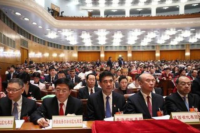 陕西省代表团提交19件议案 均已全部立案