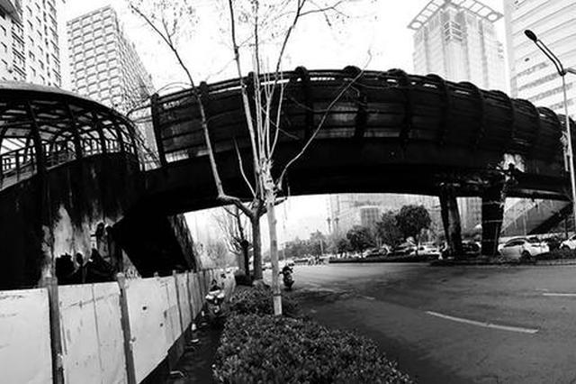 """""""西安最美天桥""""昨日凌晨起火 幸无人员受伤"""