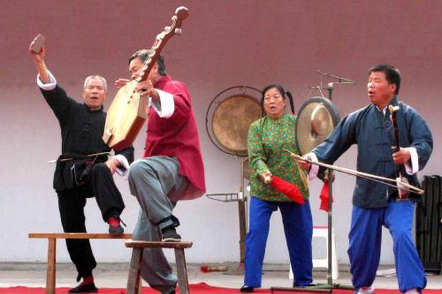 陕西老腔和皮影戏在美国巡演 演出持续到3月25日