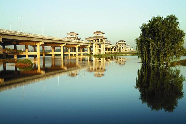 加强渭河综合治理 全力打造大西安的城中河