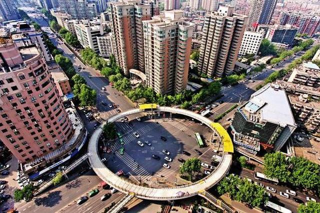西安再添环形天桥 投用后将有效缓解周边交通压力