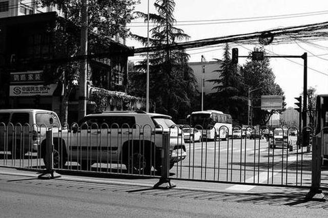 为啥标新街不能东西直通? 为缓堵而采取的措施