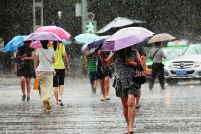 昨日降雨西安骤降9℃ 最近几天这雨下下停停
