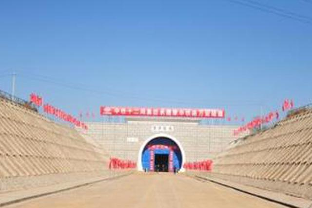 蒙华铁路蒙陕段单口掘进最长隧道贯通