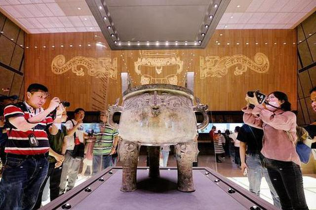 去陕西历博看国宝 展览展出文物三千余件套