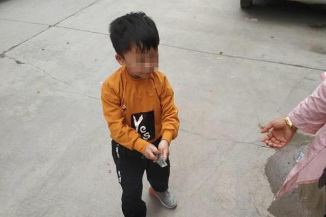 四岁男童头上伤痕累累 父母称幼儿园老师所为
