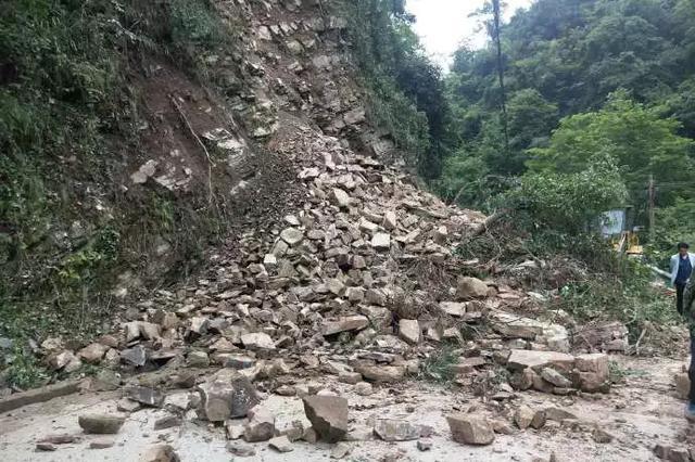 突发|安康紫阳发生山体塌方,当地正在紧急抢险