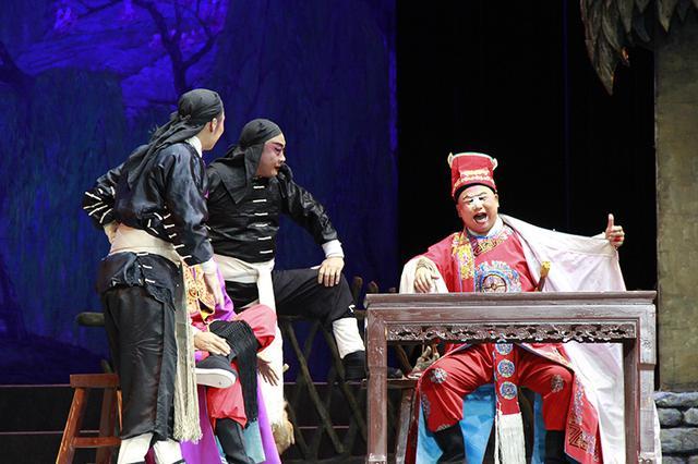秦腔新编历史剧《金麒麟》在易俗大剧院上演